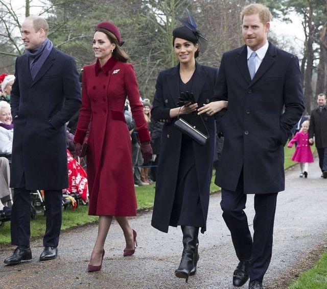 Королева попросила Кейт Миддлтон и Меган Маркл помириться ради Рождества