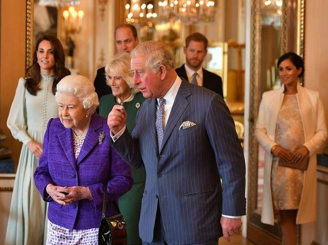 Приём в Букингемском дворце подтвердил ссору Кейт Миддлтон и Меган Маркл?