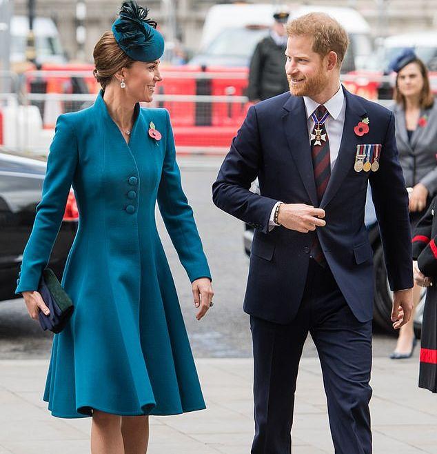 Кейт Миддлтон помирила принца Уильяма и принца Гарри