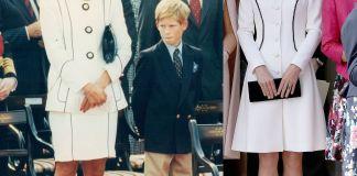 Кейт Миддлтон повторила наряд принцессы Дианы?