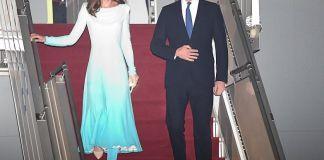 Принц Уильям и Кейт Миддлтон впервые прилетели в Пакистан
