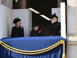 Принц Уильям с Кейт Миддлтон и принц Гарри с Меган Маркл не общались на церемонии Дня памяти павших