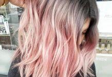 Трендовые цвета волос