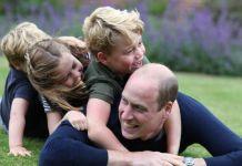 Новые фотографии принца Уильяма с детьми
