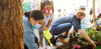 Принц Гарри и Меган Маркл рассказали детям о любви к природе