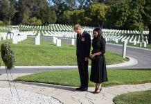 Герцог и герцогиня Кембриджские на церемонии возложения венков в честь Дня памяти павших