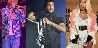 Джастин Бибер, The Weeknd и Ники Минаж возмущены номинациями Грэмми 2021