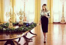 Мелания Трамп украсила Белый дом к Рождеству и Новому году