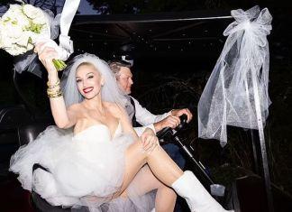Гвен Стефани сменила 2 платья на своей свадьбе