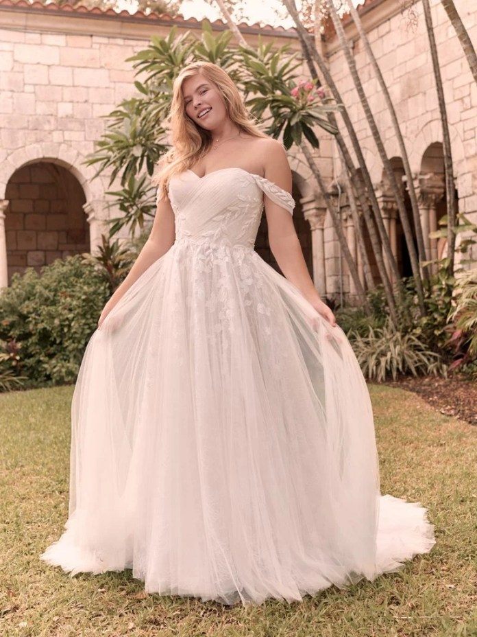 Flora by Rebecca Ingram wedding dress