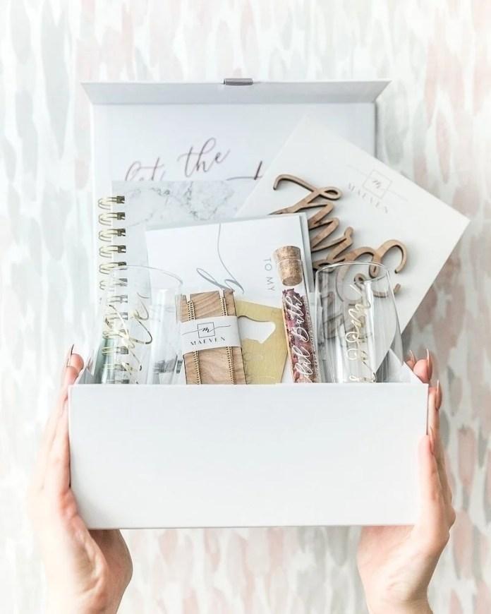 maeven bridal subscription box