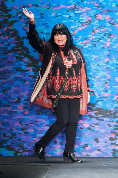 Anna Sui Φθινοπωρο Χειμωνας 2015-2016 collection