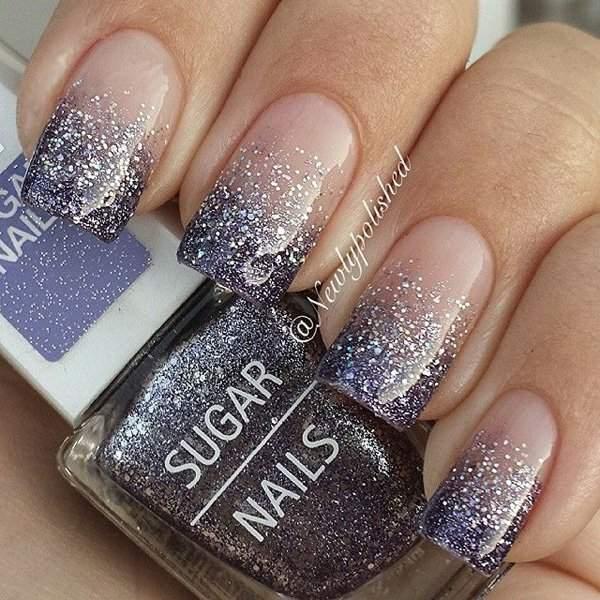 Glitter-Tip-Nail-Design