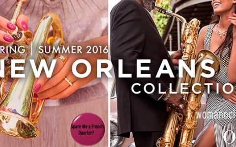 OPI new Orleans collection μανό άνοιξη καλοκαίρι 2016