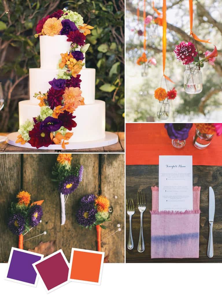 χρωματα για γαμο-womanoclock