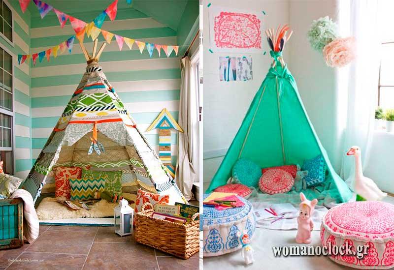 Σκηνές για το παιδικο δωματιο UNISEX