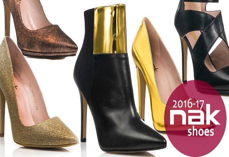 596f6ea792c Οι νέες αφίξεις στα Nak shoes 2017 είναι μαζί μας για να τις απολαύσετε!!!  Στα Nak shoes 2017 θα βρείτε ιδιαίτερα αλλά και κλασσικά σχέδια σε γόβες  και ...
