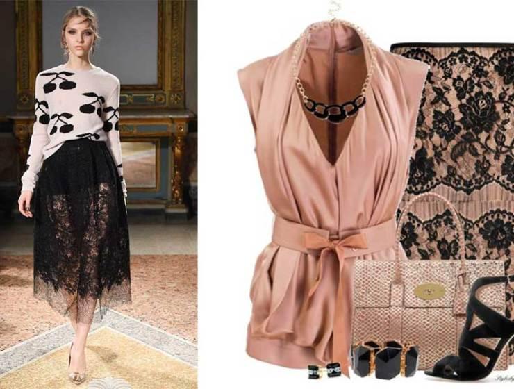 4 Τρόποι να Φορέσεις Φούστα με Δαντέλα 88c95dc2ae2
