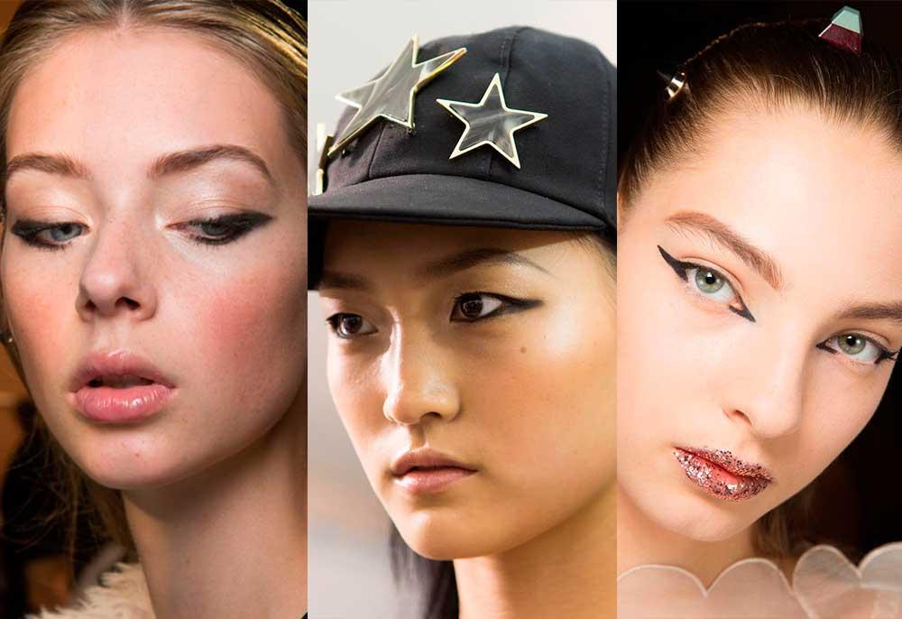 τάσεις μακιγιάζ 2017 άνοιξη καλοκαίρι - eyeliner