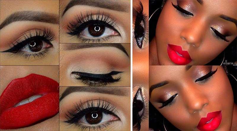 Μακιγιάζ για Κόκκινο Φόρεμα - womanoclock