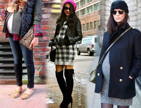 19 Chic Street Styles για Εγκύους - WOMANOCLOCK