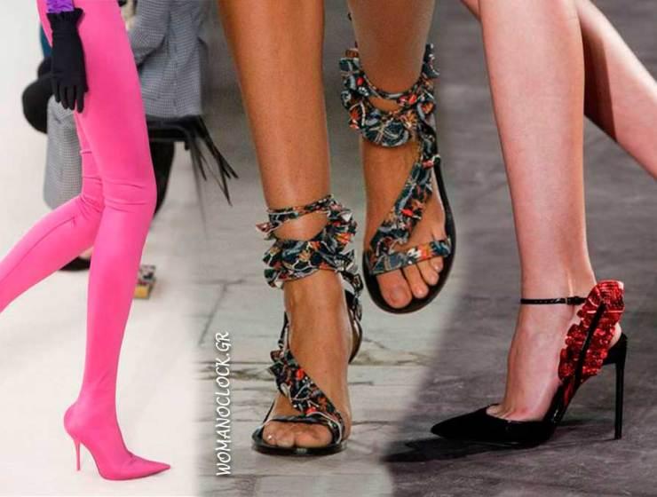 Παπούτσια Άνοιξη 2017  Τα trends από το Fashion Week στο Παρίσι 81056c949b8