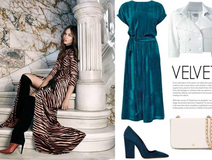 5afcf7789905 Τα ωραιότερα Βελούδινα Φορέματα της Αγοράς