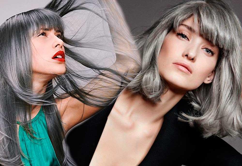 Γκρι Χρώματα Μαλλιών: όλες οι Αποχρώσεις