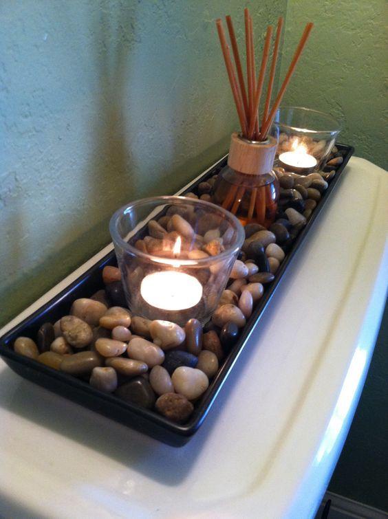 Έξυπνες συμβουλές για την διακόσμηση του μικρού μπάνιου