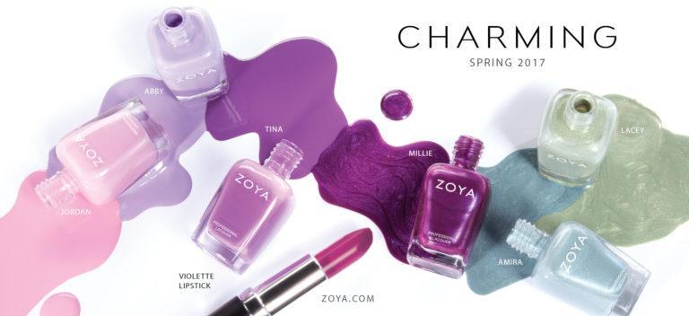 Μανό Zoya Charming Collection Άνοιξη 2017