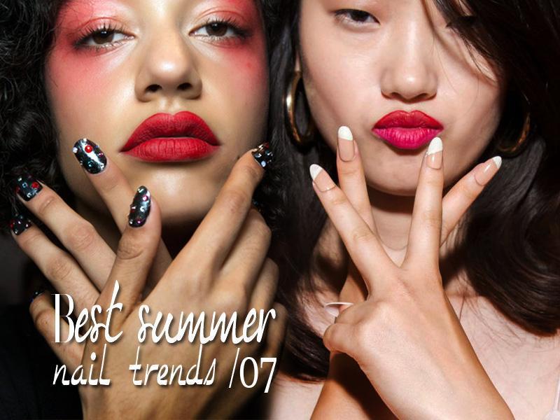 Nail trends Άνοιξη Καλοκαίρι 2017