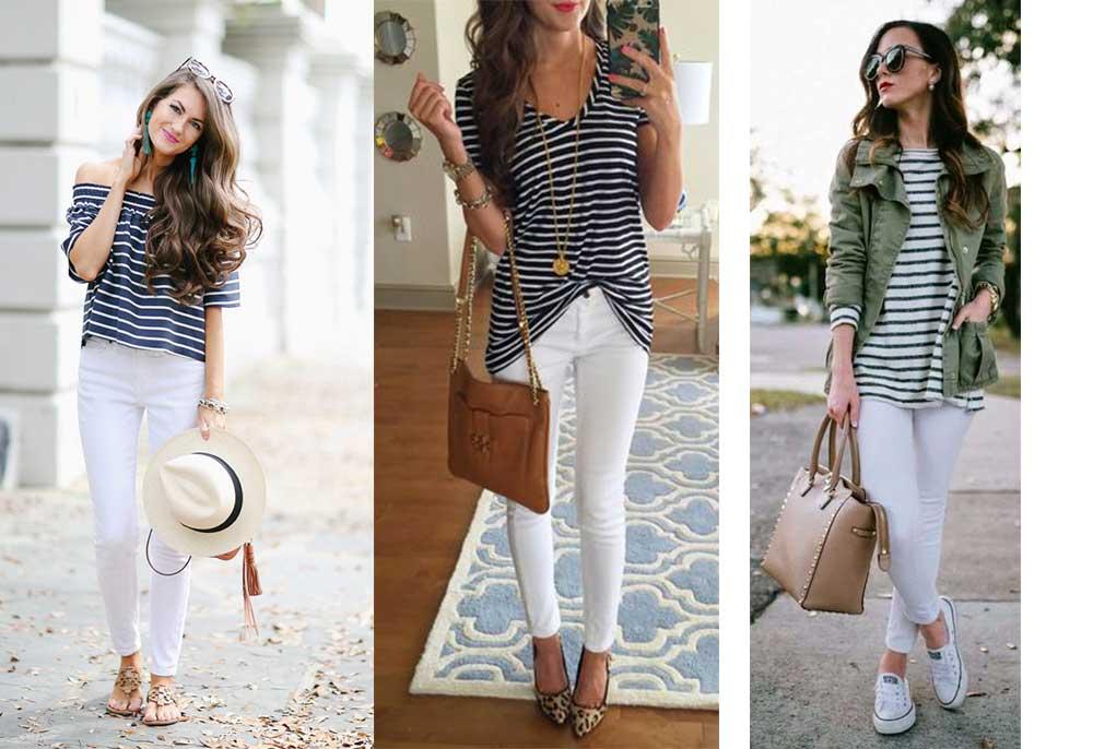 Πως να Φορέσω άσπρο Παντελόνι όλες τις Εποχές