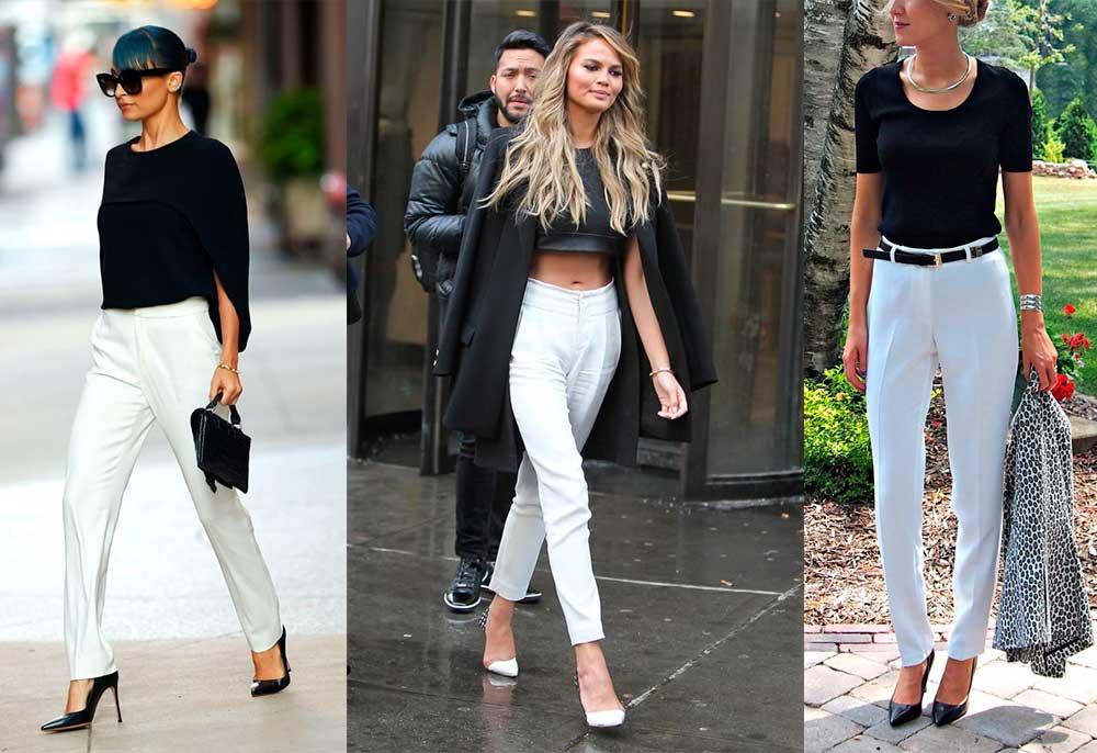 Πως να Φορέσω άσπρο Παντελόνι όλες τις Εποχές - womanoclock