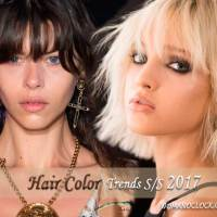 Χρώματα Μαλλιών 2017 Άνοιξη Καλοκαίρι - Όλες οι Τάσεις του Fashion Week