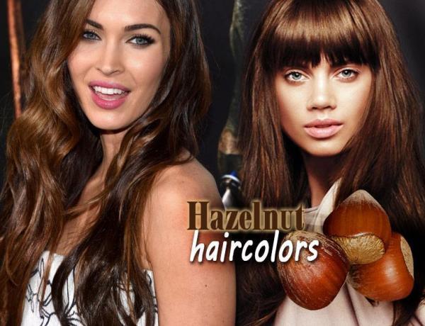 φουντουκί χρώμα μαλλιών