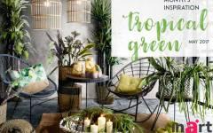 Το Χρώμα της Σεζόν 2017: Τροπικό Πράσινο στη διακόσμηση σπιτιού!