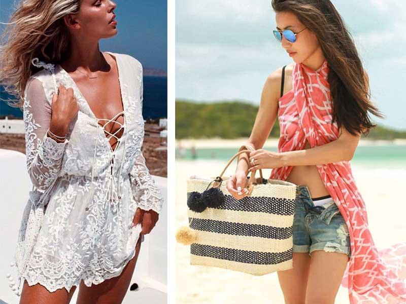 τι να φορέσω στην παραλία καλοκαίρι 2017