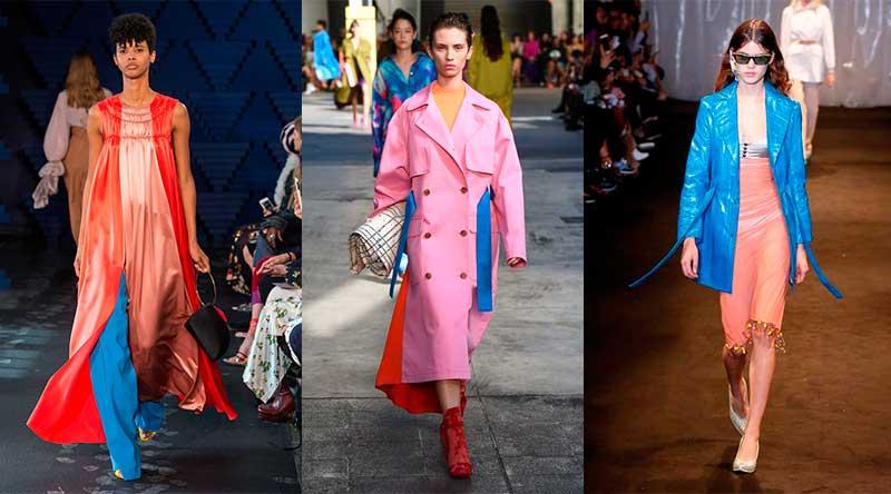 bright colors - τάσεις μόδας άνοιξη καλοκαίρι 2018