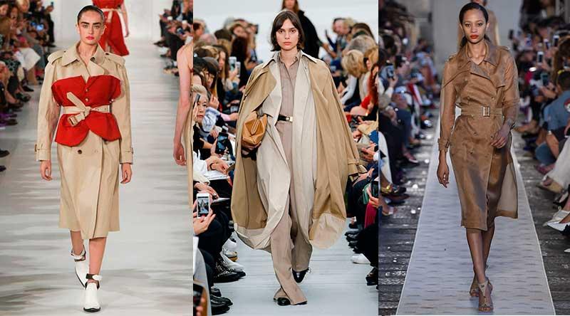 Καμπαρντίνες-τάσεις μόδας άνοιξη καλοκαίρι 2018