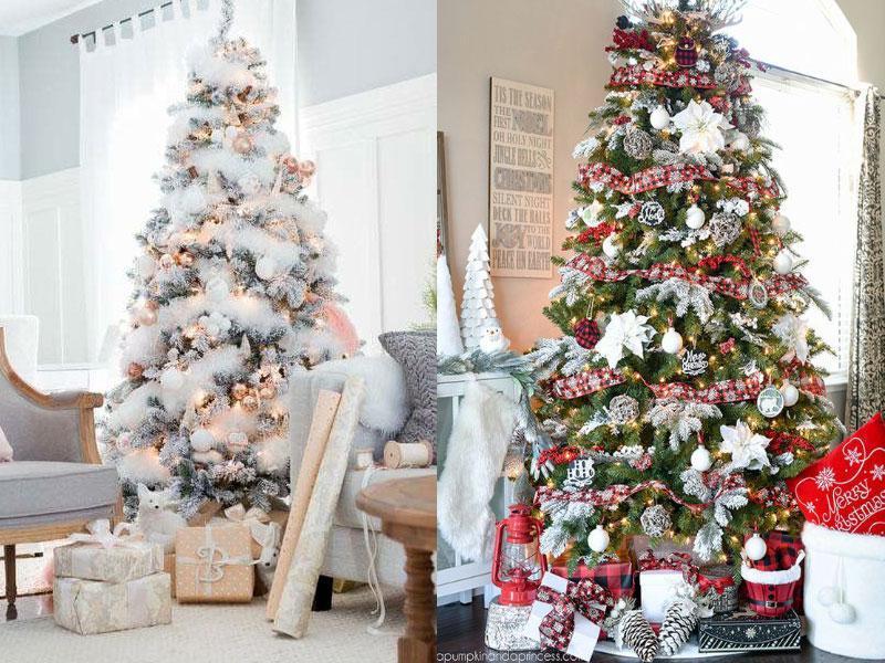 Χριστουγεννιατικα Δεντρα 5+1 διαφορετικά στυλ