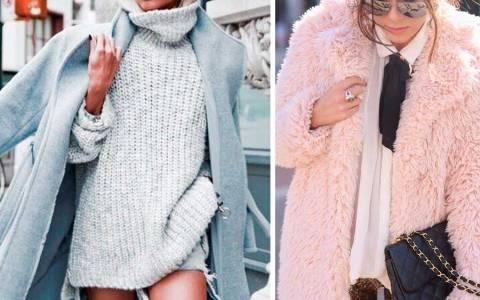 Παστέλ outfits χειμώνας