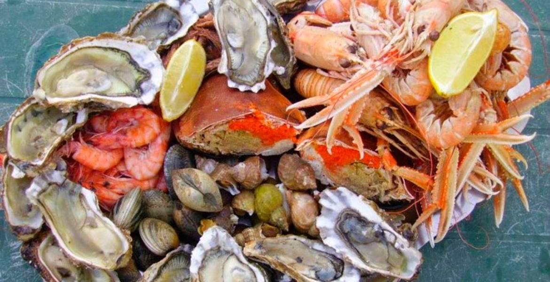 Τα θαλασσινά είναι μια τροφή με υψηλή περιεκτικότητα σε πρωτεΐνες
