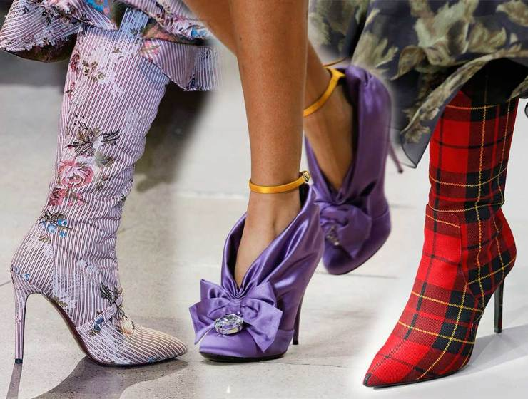 50e9899f8a Τα Παπούτσια που θα Φορεθούν Φθινόπωρο Χειμώνα 2018-2019 Οι 20 τάσεις από  τις εβδομάδες μόδας