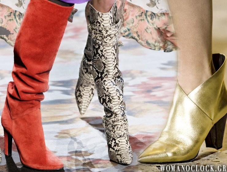 54a6939df3 Παπούτσια 2019  Οι 6 κορυφαίες τάσεις του χειμώνα 5+1 ζευγάρια που πρέπει  να έχετε στη ντουλάπα σας σύμφωνα με την εβδομάδα μόδας
