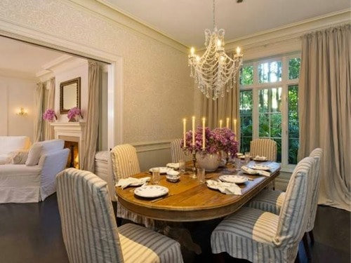 Jennifer lawrence dining room