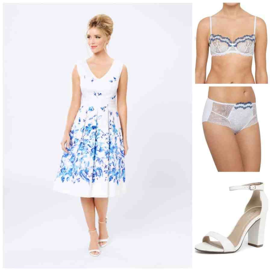 Reese Witherspoon summer dress look
