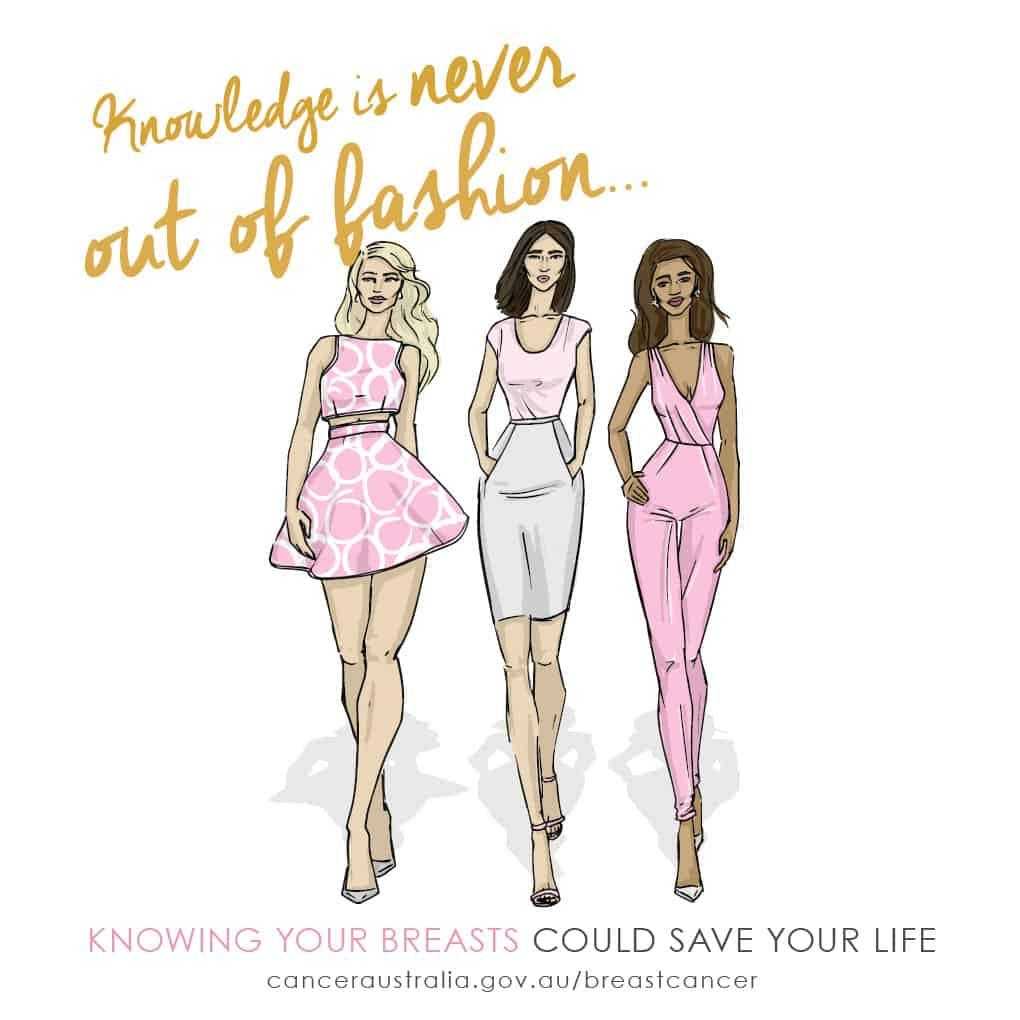 breast cancer fashion style
