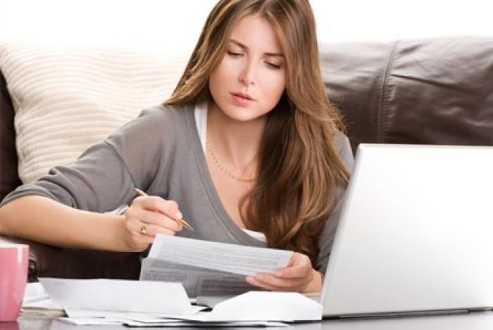 budgeting woman