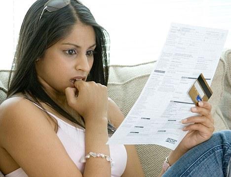 woman budgeting