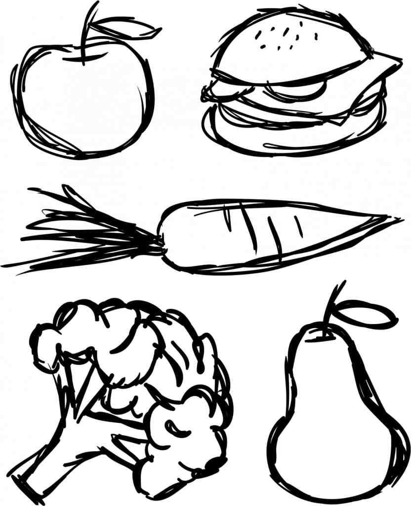 food-scribbles